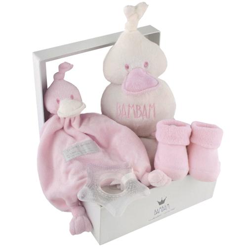 Geboorte cadeau BamBam roze