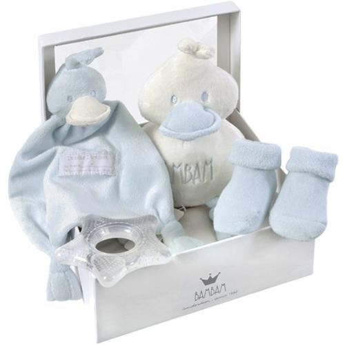 Geboorte cadeau BamBam blauw